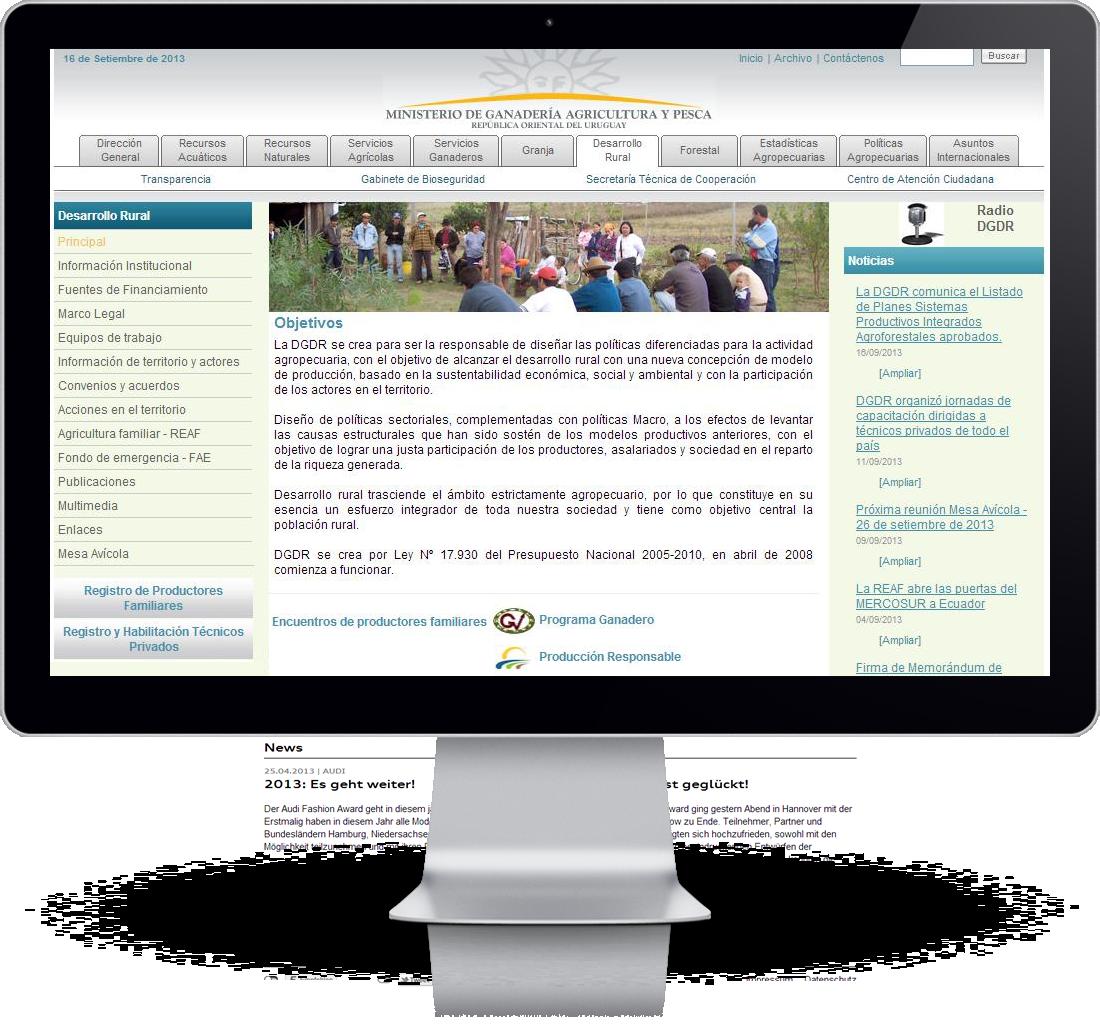 Proyecto ministerio de ganader a agricultura y pesca rea w3 for Ministerio de ganaderia